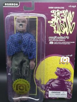 mego 8 inch figure werewolf flocked horror