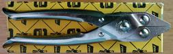 Sargent Quality Tools Model 100 8-inch Flat Nose Pliers Para