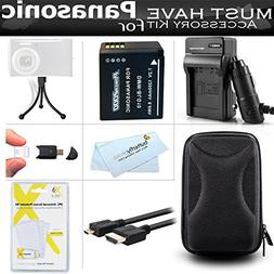 Must Have Accessory Kit For Panasonic LUMIX DMC-ZS100, DMC-Z