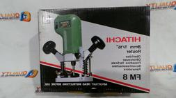 """New Hitachi FM8 8mm 5/16"""" Router 220 Volt - Made in Japan"""