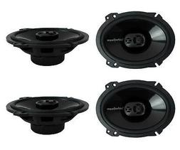 "Rockford Fosgate P1683 6x8"" 260 Watt 3 Way Car Coaxial Speak"