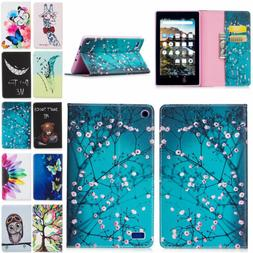 Painting Stand Case For Amazon Kindle Fire HD 8 Inch Tablet