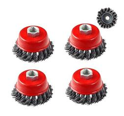 """Generic QYUS416021544781750 Wire Cup Brush """" x 5/8 11 NC FIN"""