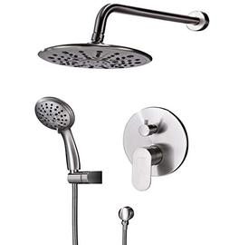 Shower System, Wall Mounted Shower Faucet Set for Bathroom w