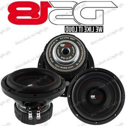"DS18 SLC 8S 8"" Inch Subwoofer 400 Watts Max Power 4 Ohm Sub"