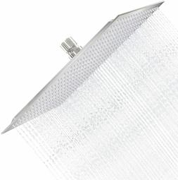 HotelSpa 8-Inch Stainless Steel Square Rainfall Shower Head