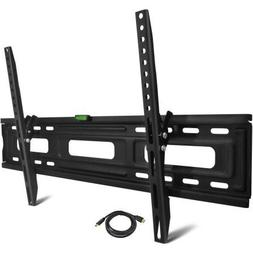"Onn Tilting TV Wall Mount Kit for 24"" to 84"" TVs with HDMI C"