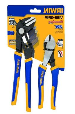 IRWIN Tools VISE-GRIP Pliers Set, Diagonal Cutter, 8-Inch an