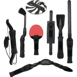 Wii Sports Resort 8 In 1 Pack BLACK Video Game Accessories